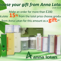Choose your gift  Anna Lotan! Discount is valid for another week!