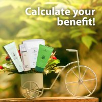 Calculate your benefit! Offer!