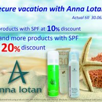 Secure vacation with Anna Lotan!